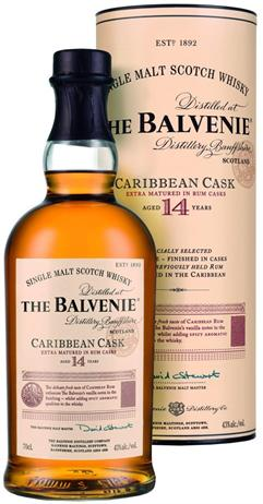 The Balvenie Scotch Single Malt 14 Year Caribbean Cask - Extra Matured In Rum Cask
